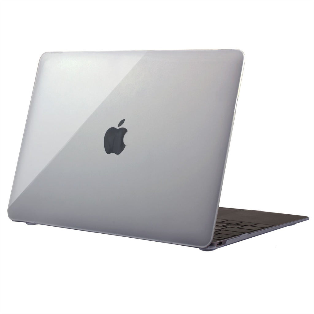 "Lilware Ultra Touch Crystal Clear Glossy Hard Plastic Case for 12"" inch MacBook with Retina Display (Release 2015). Clear"