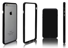 Xcessor Classic Bumper Case For Apple iPhone 6 Plus. Rubber & Plastic. Black