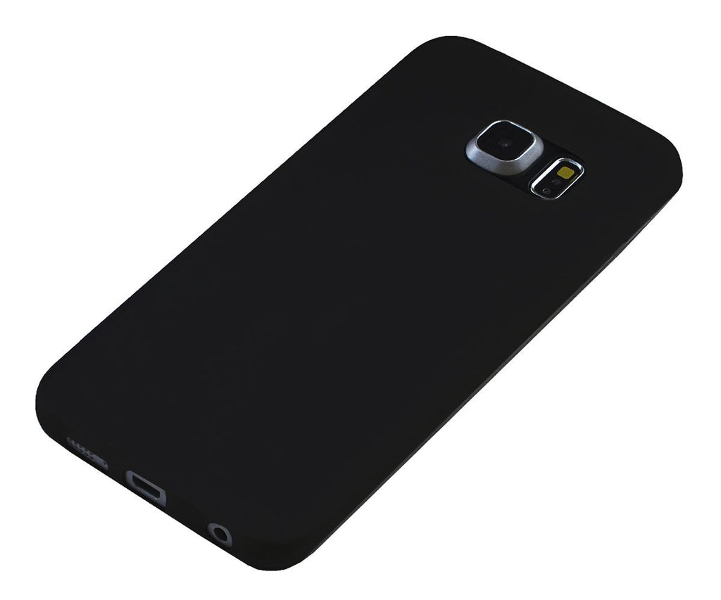 Xcessor Vapour Flexible TPU Case for Samsung Galaxy S6 edge SM-G925F. Black