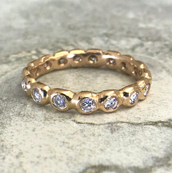 Pebble Eternity Ring