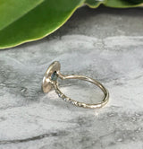 Halo Micro Eternity ring