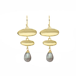Falling Reflection Drop Earrings