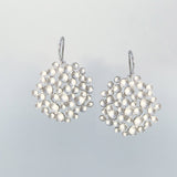 Large Champagne Pod Earrings