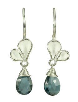 Double Petal Drop Earrings
