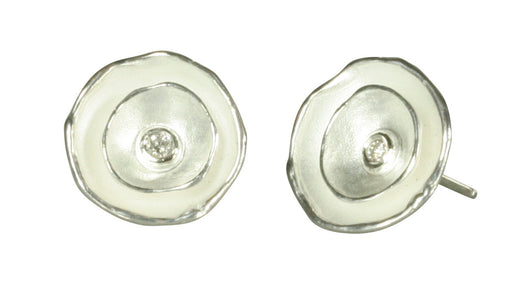 Oyster Dishy Earrings Hook or Post