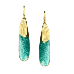 Reed Amazonite Earrings