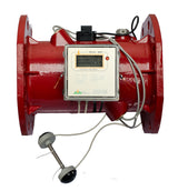 280T Flanged Inline Ultrasonic BTU / Heat Meter