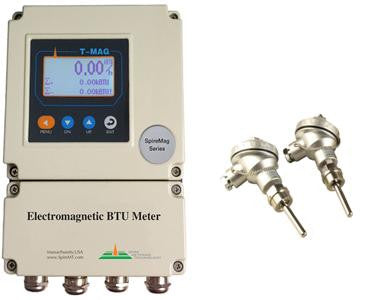 T-MAG-F Electromagnetic High Accuracy BTU Meter with PTFE Liner, ANSI 150# Flange