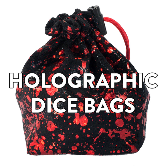 05 Holographic Dice Bags