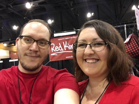 Alex and Nicole Pepper at Phoenix Comic Con 2017