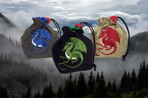 Red King Co - RedKingCo. Dragon Dice Bag