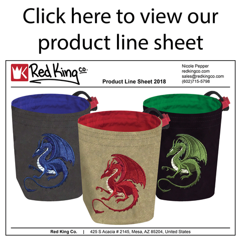 Click here to view our product line sheet