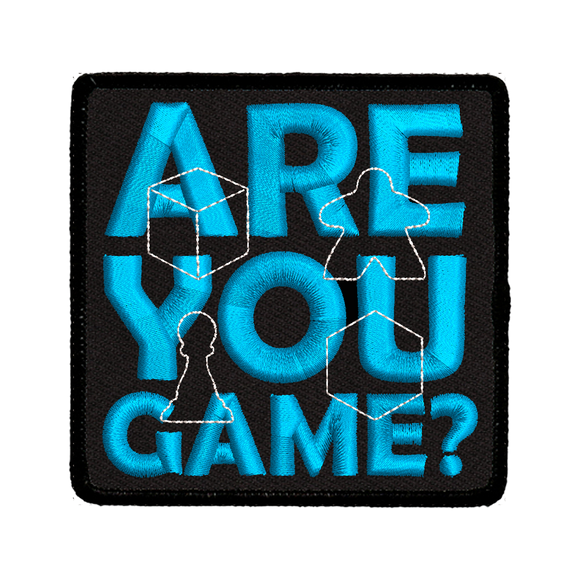 Are You Game? - Iron-On Patch