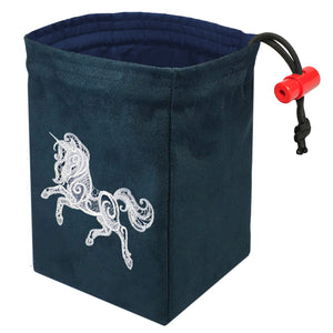 Baroque Unicorn - Embroidered Dice Bag
