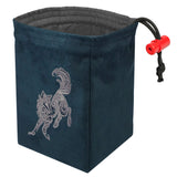 Baroque Wolf - Embroidered Dice Bag