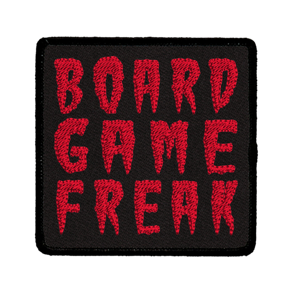 Board Game Freak - Iron-On Patch