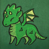 Charmed Creatures Dragon - Embroidered Dice Bag