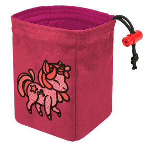 Charmed Creatures Unicorn - Embroidered Dice Bag