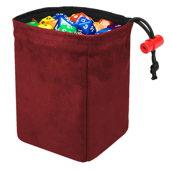 Classic Dice Bag - Red Suede