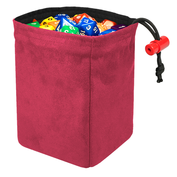 Classic Dice Bag - Pink Suede