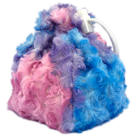 Cotton Candy Unicorn Mane Dice Bag