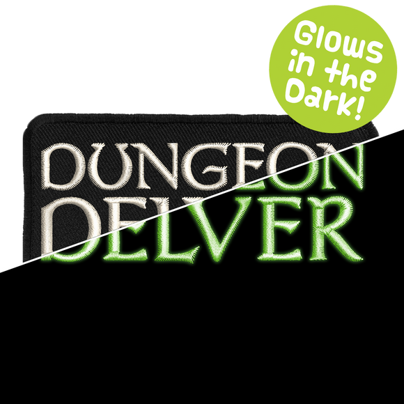 Dungeon Delver Glow - Iron-On Patch