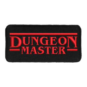 Dungeon Master (Black Border) - Iron-On Patch