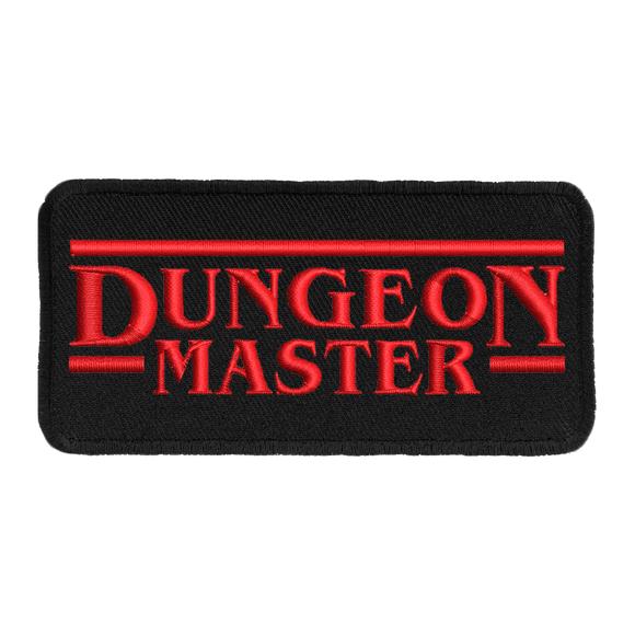 Patch - Dungeon Master (Black Border)