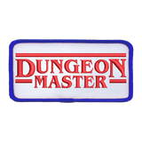 Dungeon Master (Blue Border) - Iron-On Patch
