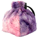 Faerie Fire Spellbound Fur Dice Bag