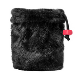 Black Bear Fur Dice Bag