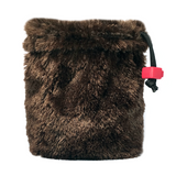 Brown Bear Fur Dice Bag
