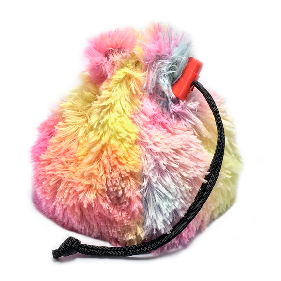 Rainbow Unicorn Mane Dice Bag