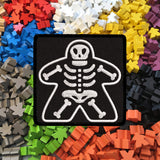 Meeple Skeleton - Iron-On Patch
