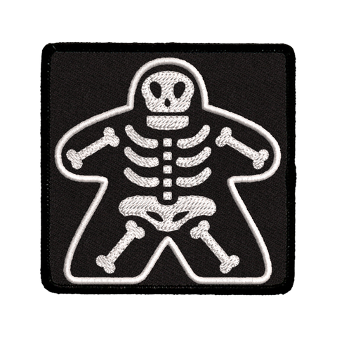 Patch - Meeple Skeleton