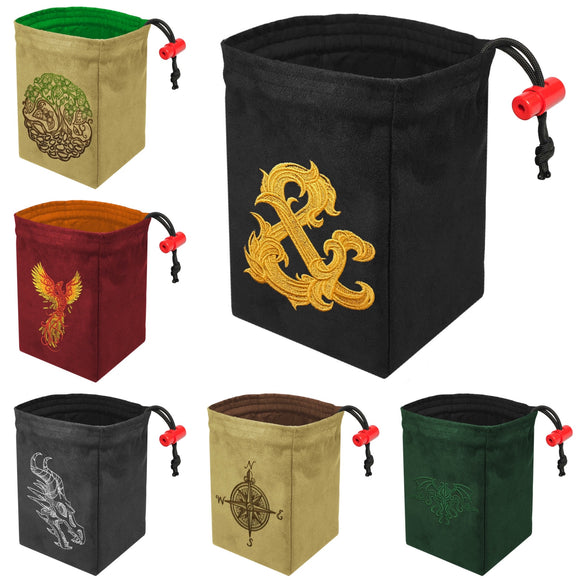 Assorted Embroidered Dice Bag Bundle - SAVE 5%