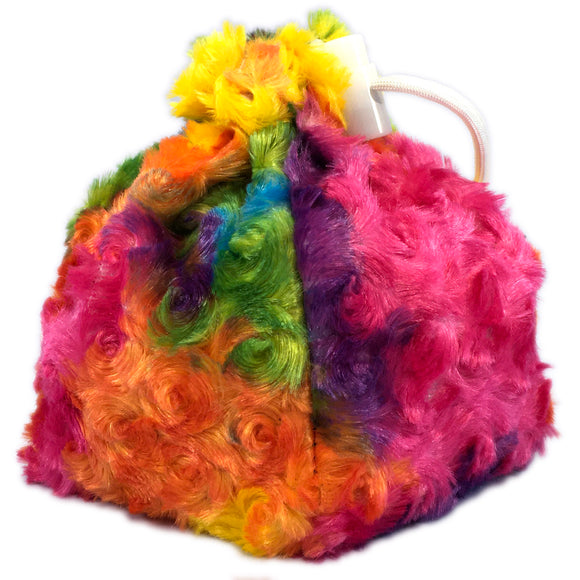 Radiant Rainbow Unicorn Mane Dice Bag