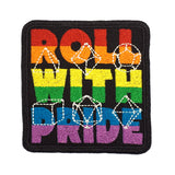 Roll With Pride - Iron-On Patch