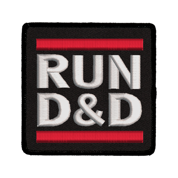 Run D&D - Iron-On Patch