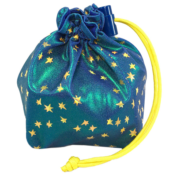 Stardust Holographic Dice Bag
