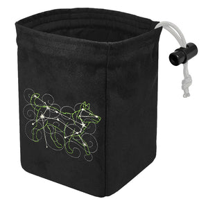 Stellar Constellation Canis Major - Glow in the Dark Dice Bag