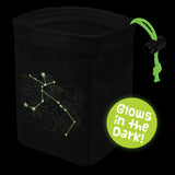 Stellar Constellation Centaurus - Glow in the Dark Dice Bag