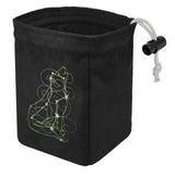 Stellar Constellation Lupus - Glow in the Dark Dice Bag