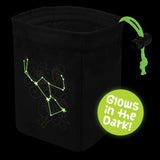 Stellar Constellation Orion - Glow in the Dark Dice Bag
