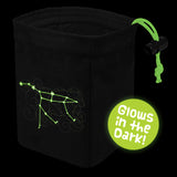 Stellar Constellation Ursa Major - Glow in the Dark Dice Bag