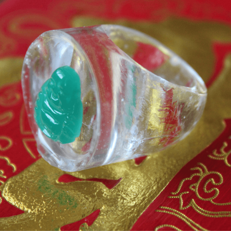 Buddha Buddy Ring