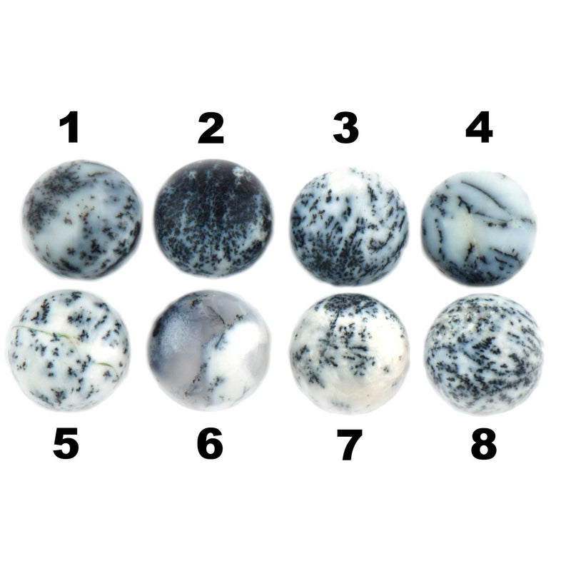 Dendritic Agate Round Stone options