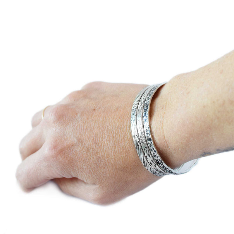 Sandstorm flow cuff | Sterling Silver | Made to Order