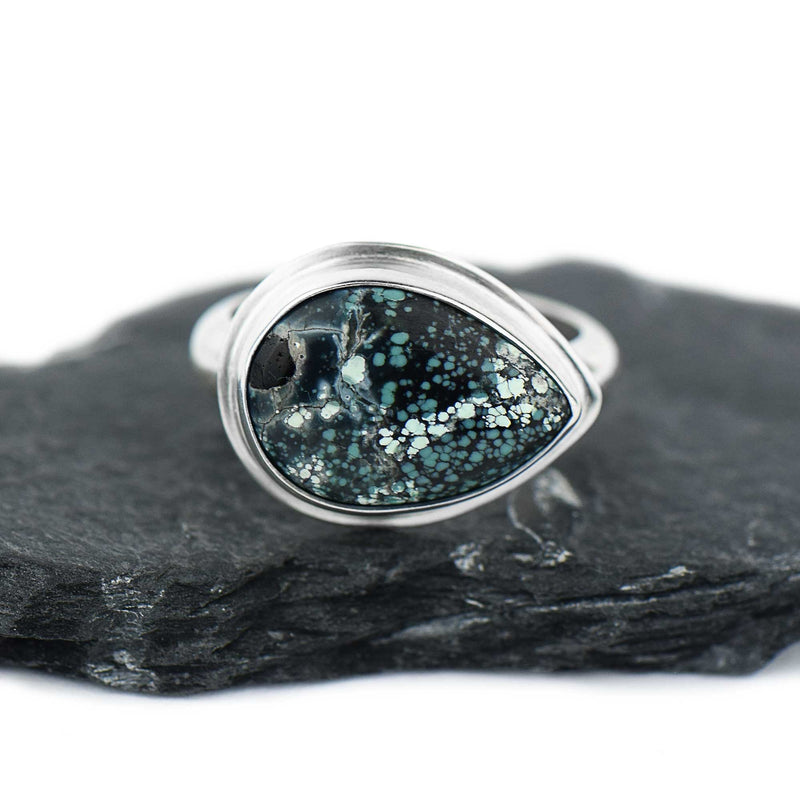 Turquoise Sterling Silver Ring Size 5.5