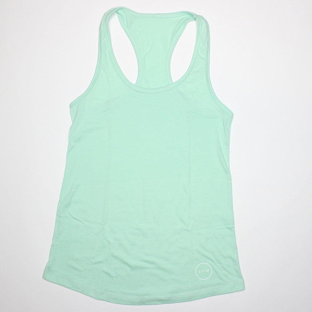 Female Icon Tank Top- Mint
